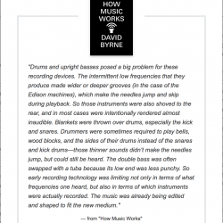 Quote: How Music Works